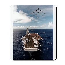 USS John Stennis Ship's Image Mousepad