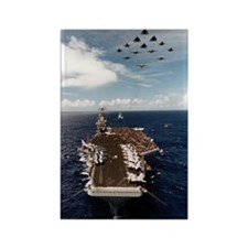 USS John Stennis Ship's Image Rectangle Magnet