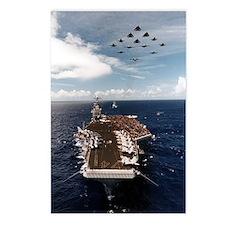 USS John Stennis Ship's Image Postcards (Package o