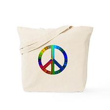 PAW PRINT/PEACE SIGN Tote Bag
