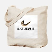 Just Jew It Tote Bag