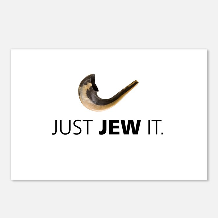 Just Jew It Postcards (Package of 8)