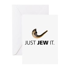 Just Jew It Greeting Cards (Pk of 20)