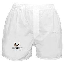 Just Jew It Boxer Shorts