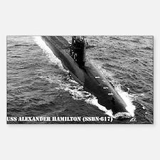 USS ALEXANDER HAMILTON Decal