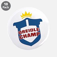 """Dreidle Champ 3.5"""" Button (10 pack)"""