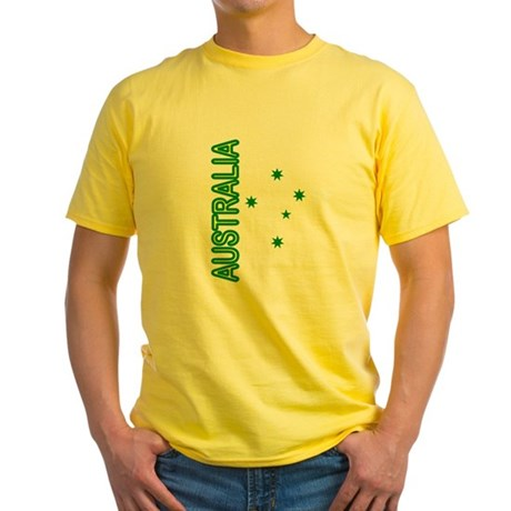 Australian Southern Cross Yellow T-Shirt