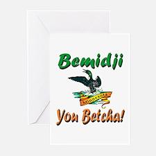 Bemidji 'You Betcha' Greeting Cards (Pk of 10)