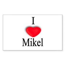 Mikel Rectangle Decal