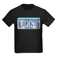 Bloomington License Plate T