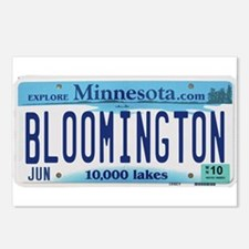 Bloomington License Plate Postcards (Package of 8)