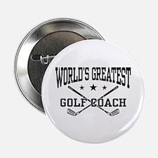 "World's Greatest Golf Coach 2.25"" Button"