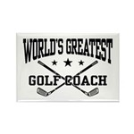 World's Greatest Golf Coach Rectangle Magnet