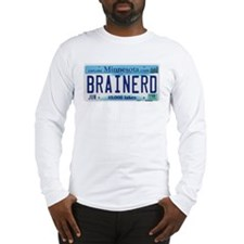Brainerd License Plate Long Sleeve T-Shirt