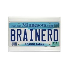 Brainerd License Plate Rectangle Magnet