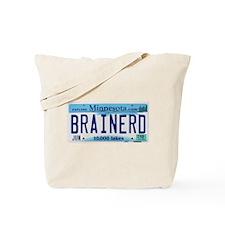 Brainerd License Plate Tote Bag