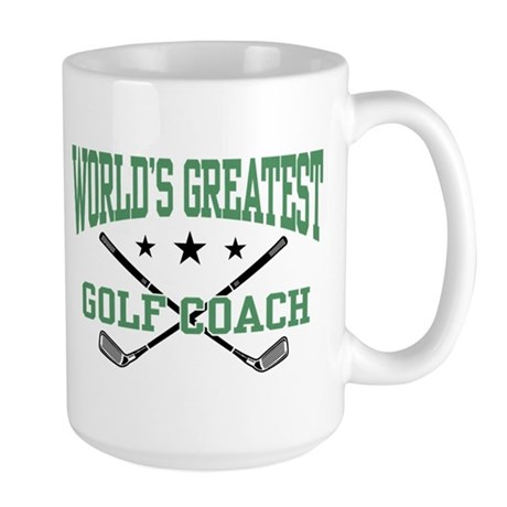 World's Greatest Golf Coach Large Mug