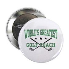 "World's Greatest Golf Coach 2.25"" Button"