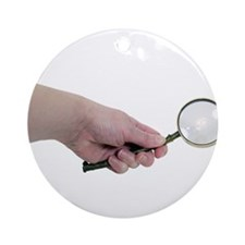 Looking for green items Ornament (Round)