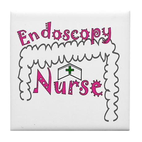 GI/Endoscopy Nurse Tile Coaster