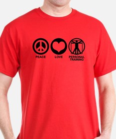 Peace Love Personal Training T-Shirt