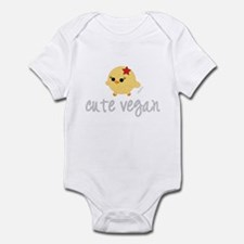 Cute Vegan Infant Bodysuit