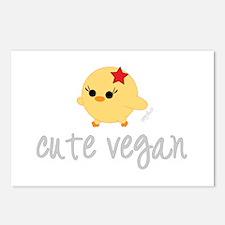 Cute Vegan Postcards (Package of 8)