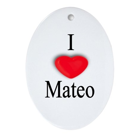 Mateo Oval Ornament