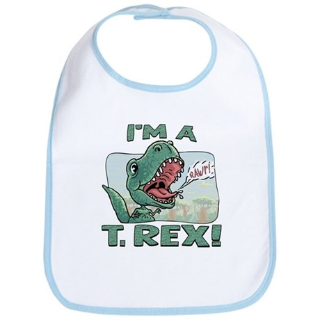I'm a T. Rex Bib