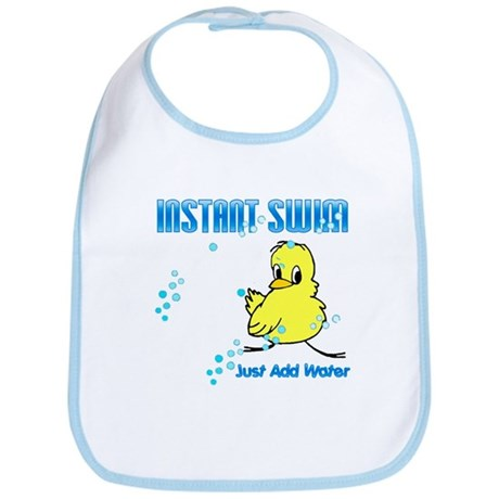 Instant Swim Chick Bib