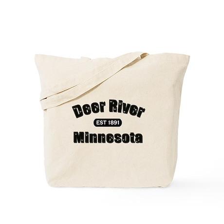 Deer River Established 1891 Tote Bag