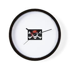 Cute Pirates Wall Clock