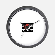 Unique Pirates Wall Clock