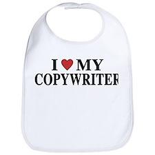 I Love My Copywriter Bib