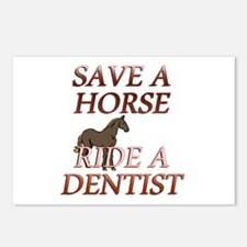 Unique Horse health Postcards (Package of 8)