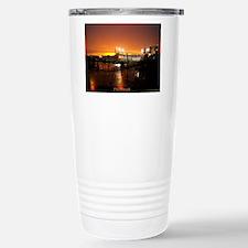 Pittsburgh Sunset Stainless Steel Travel Mug