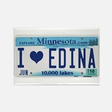 Edina License Plate Rectangle Magnet (10 pack)