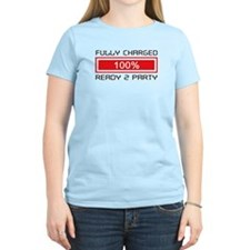 Fully Charged Ready to Party Women Light T