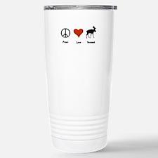 Peace Love Vermont Travel Mug