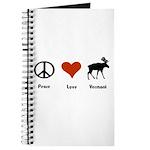Peace Love Vermont Journal