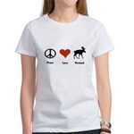 Peace Love Vermont Women's T-Shirt