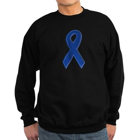 Dk Blue Awareness Ribbon Sweatshirt (dark)