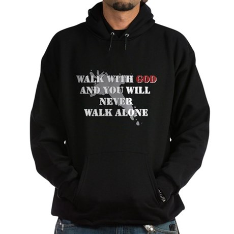 Walk With God Hoodie (dark)