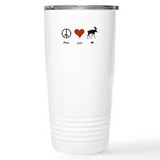 Peace Love New Hampshire Travel Mug