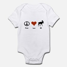 Peace Love New Hampshire Infant Bodysuit