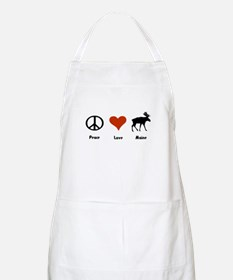 Peace, Love Maine Apron
