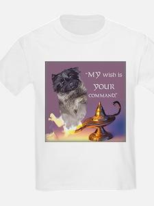 "Cairn Terrier ""Genie"" Kids T-Shirt"