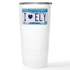 Ely License Plate Travel Mug
