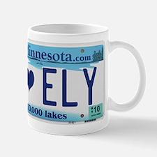 Ely License Plate Mug
