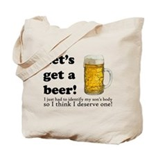 Let's Get A Beer Tote Bag